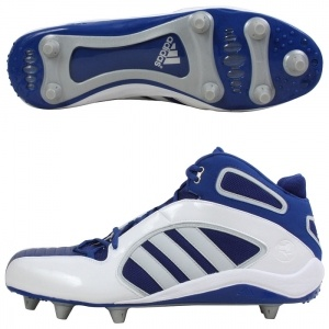 SALE - Adidas Lax Athletic Cleats Mens Blue - Was $70.00. BUY Now - ONLY $34.99