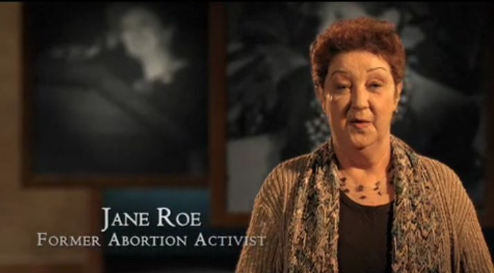 """Norma McCorvey, """"Jane Roe"""" of Roe v.Wade,was used in the TX court case that struck down all US states' abortion laws. Today, McCorvey is pro-life."""