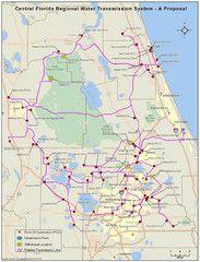 Jacksonville, Florida City Map