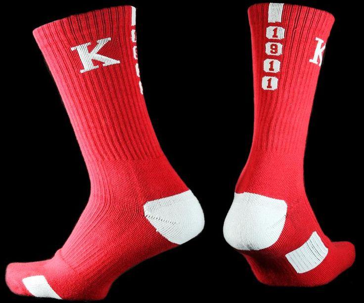 Kappa Alpha Psi Dry Fit Men's Crew Socks