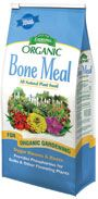 Bone Meal 4-12-0 is an all natural source of organic phosphorus and nitrogen. Domestic Bone Meal is 100% pure, with no additives or fillers. For bulbs and all perennials at planting time.