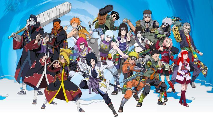 HD All Character Naruto Shippuden Wallpaper Widescreen Full Size ...