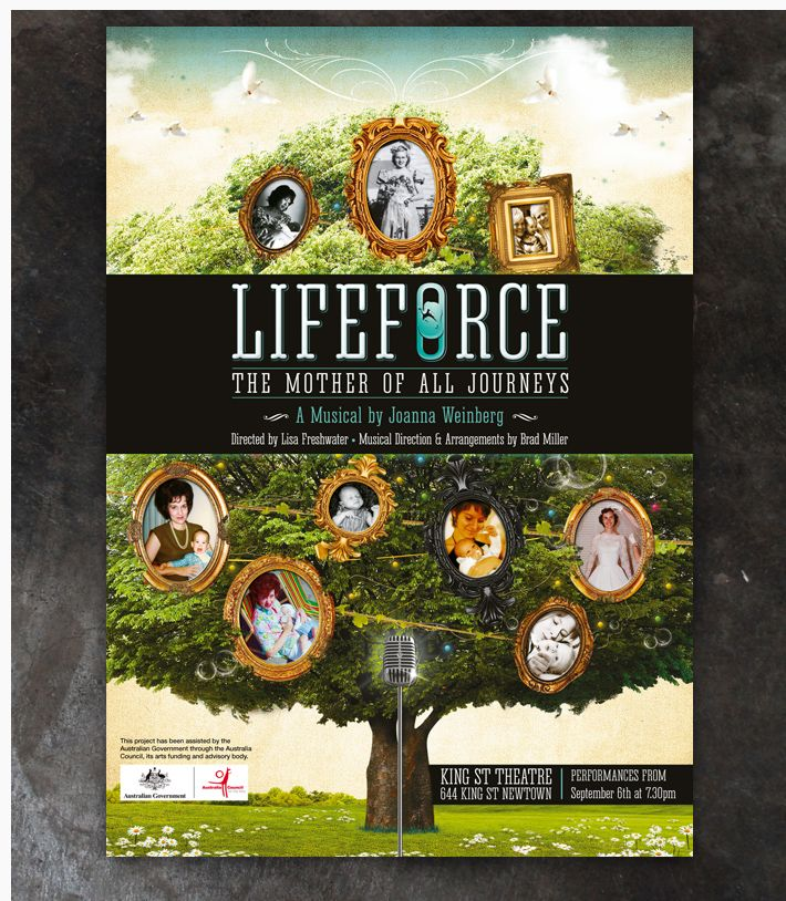 Joanna Weinberg - Lifeforce Poster
