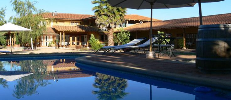 #Posada Colchagua Bed and Breakfast in #Santa Cruz Chile - #Pinterest-Colchagua-Tours-Hotels