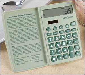 Lee Valley Kitchen Calculator - Gardening