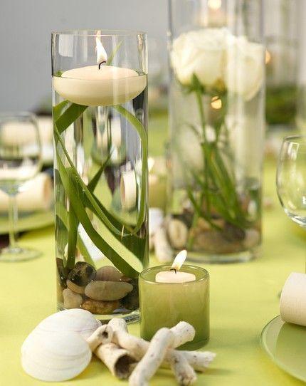 Lime green and cream - #cream #green - #DecorationGraduation