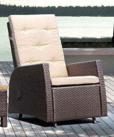 Sirio Outdoor Reclining Chair