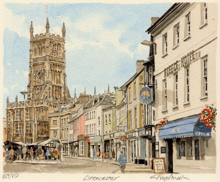 Cirencester - Portraits of Britain