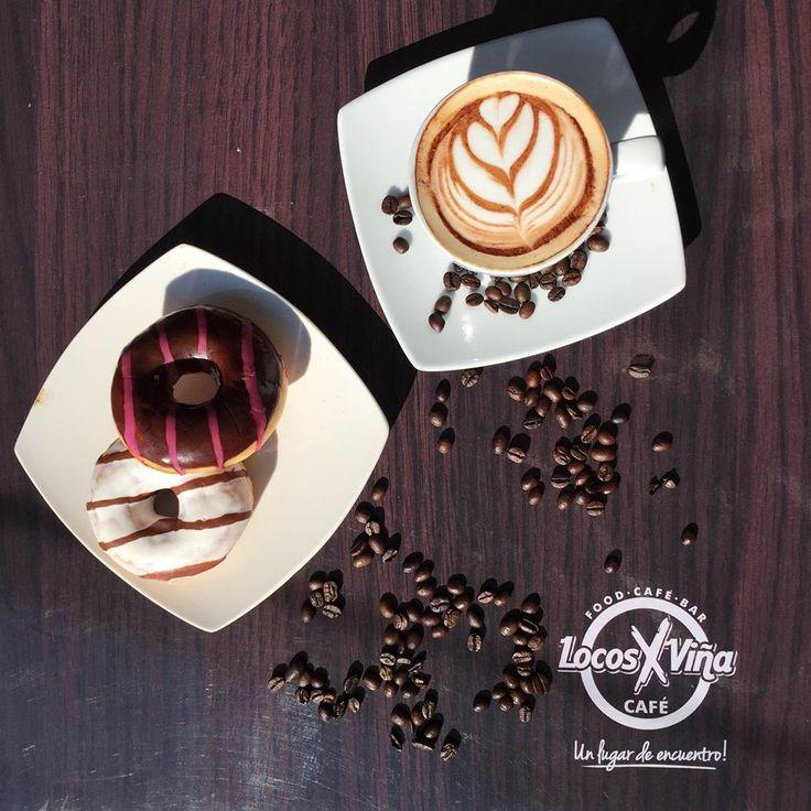 Tentaciones Matutinas, que solo la suplen un café con unas donuts rellenas....