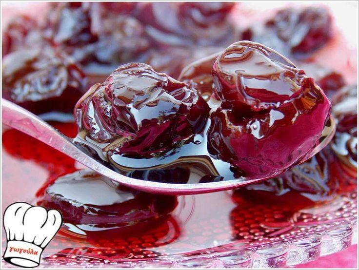 ΓΛΥΚΟ ΚΟΥΤΑΛΙΟΥ ΒΥΣΣΙΝΟ!!!   Νόστιμες Συνταγές της Γωγώς