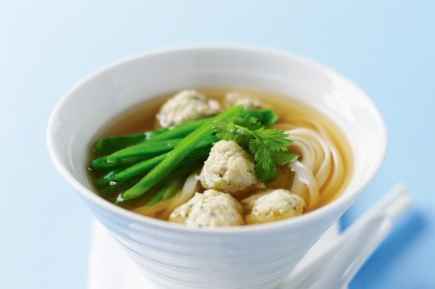 Coriander fish ball noodle soup main image