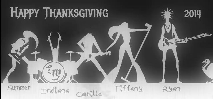 Just a little animated ditty I made while the turkey was being cooked.  All done on my phone.   Thanks METALLICA for the great tunes over the years.  Please don't…