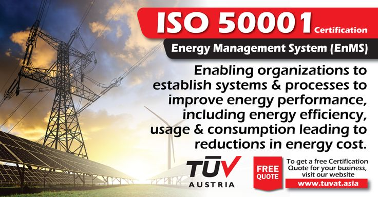 Reduce the cost of energy consumption with ISO 50001 Certification. For further queries how we can assist you: tuvat.asia/get-a-quote, or call Pakistan: +92 (42) 111-284-284 | Bangladesh +880 (2) 8836404 to speak with a representative. #ISO #TUV #certification #inspection #pakistan #bangladesh #lahore #karachi #dhaka #iso50001