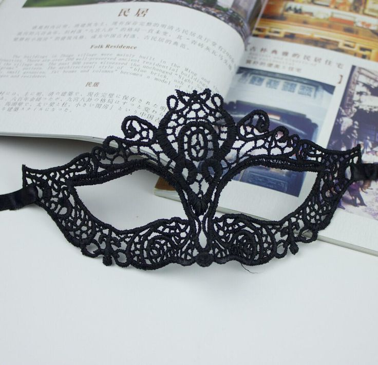 black lace catwoman mask halloween mask sexy cat mardi gras dance costume cutout veil masquerade prom black color ems