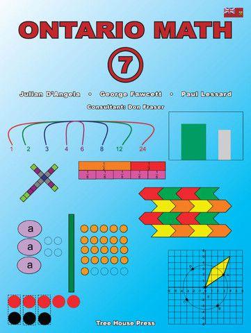 Ontario Math 7 - clear, readable lessons that teach every Ontario grade 7 math strand.