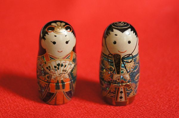 十一代目 お雛様マトリョーシカ Matryoshka dolls for Hinamatsuri(Japanese dolls festival)