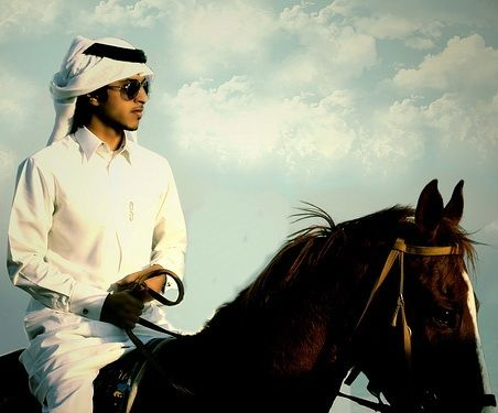 Arabian horse man