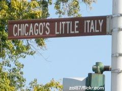 Explore Chicago's Little Italy; mario's Italian Lemonade, Rosebuds.