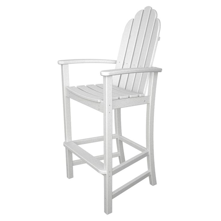 PolyWood Adirondack Bar Height Chair