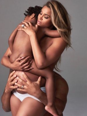 Ciara's nude photo with her husband and son causes an outcry on social media