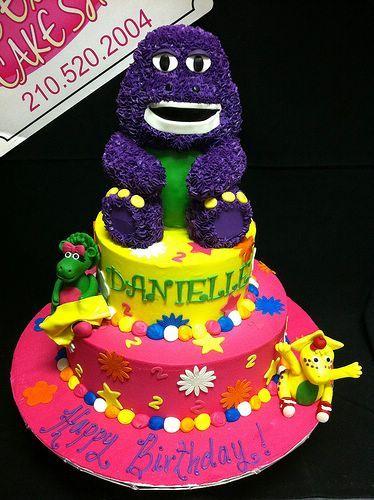Cele mai bune 25 de idei despre Barney birthday cake pe Pinterest
