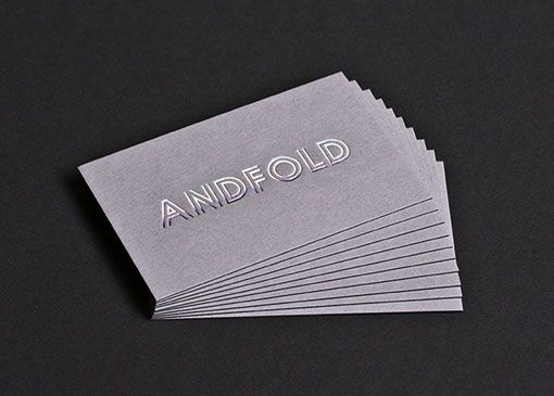 27 best paper images on pinterest carte de visite visit cards and silver foil on gray business cards by andfold via francesco mugnai reheart Image collections