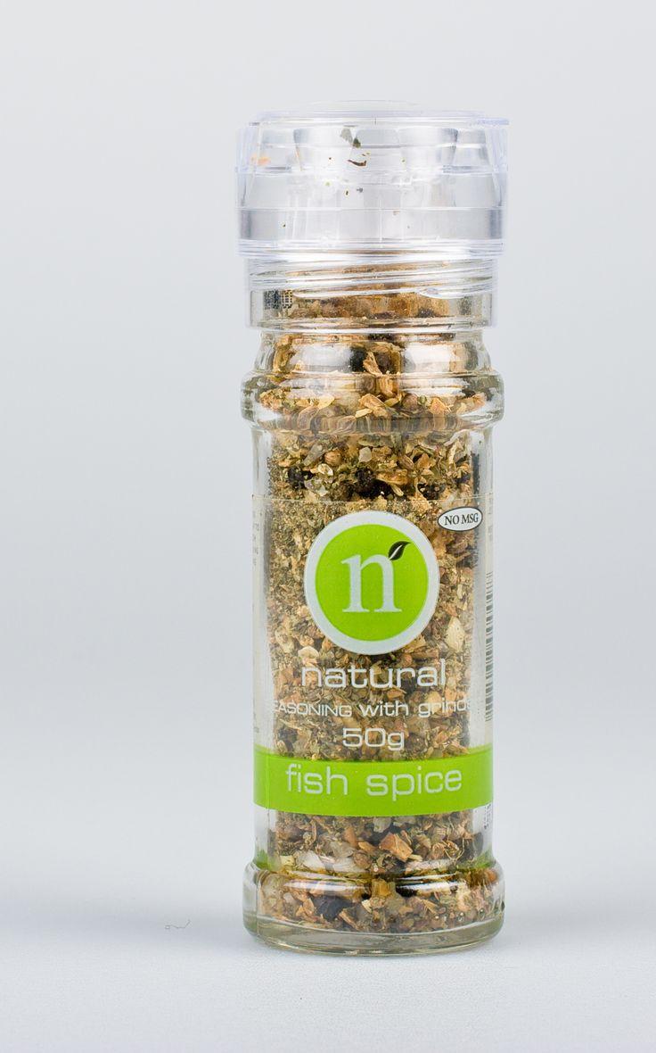 Fish spice grinder