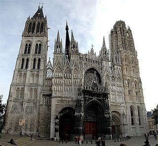 Da Rouen a Caen, con tappe intermedie e … Cena del POLLOLuxLucis | LuxLucis