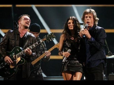 U2, Mick Jagger, Fergie Rock and Roll Hallof Fame 25th Anniversary.   One of my all time favorites!!!