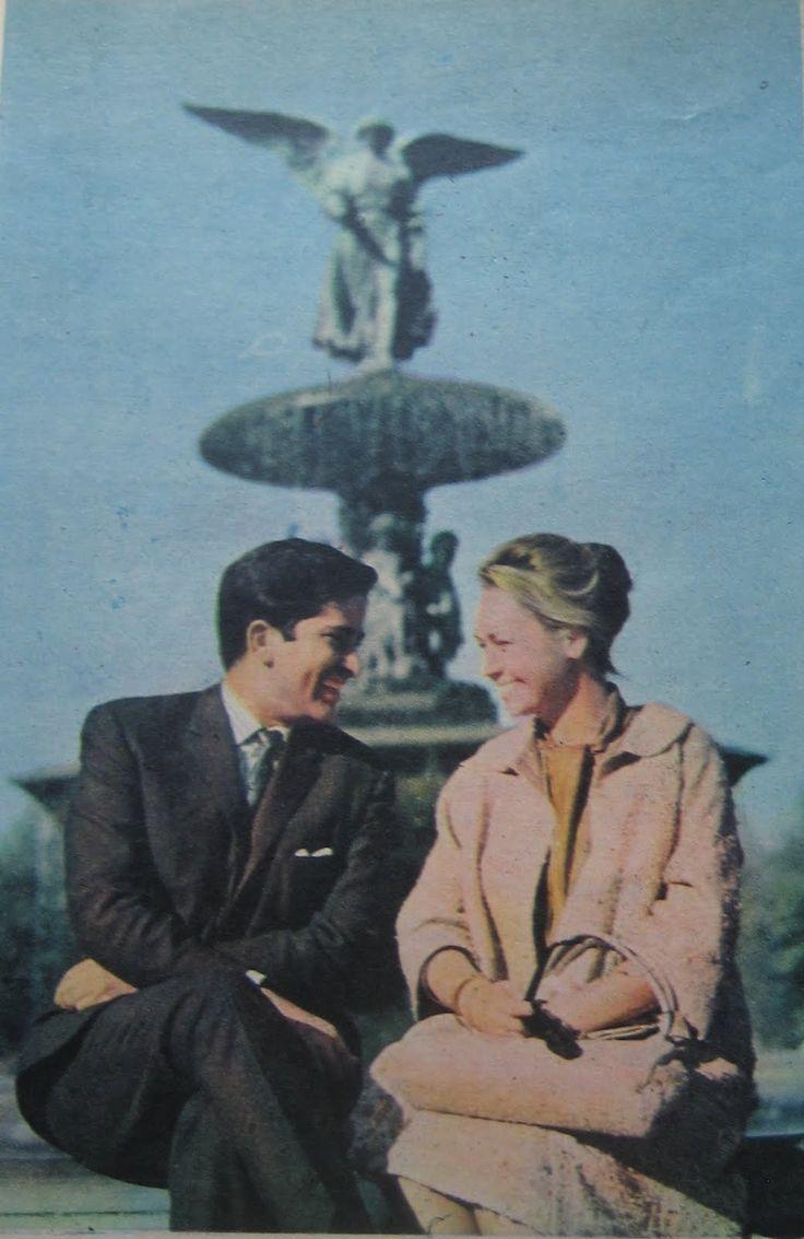 Shashi Kapoor with wife