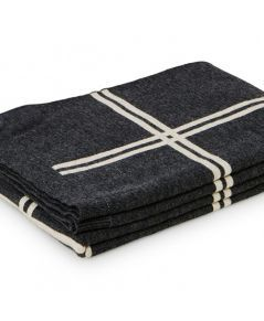 St Albans Wool Knit Throw