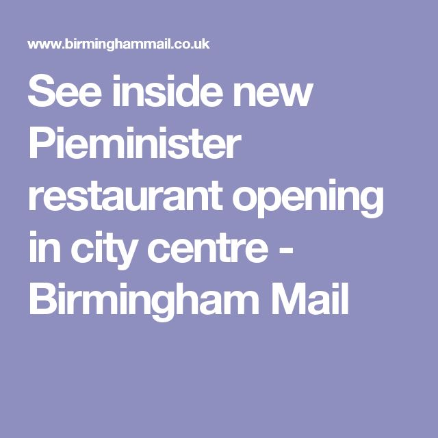 See inside new Pieminister restaurant opening in city centre - Birmingham Mail