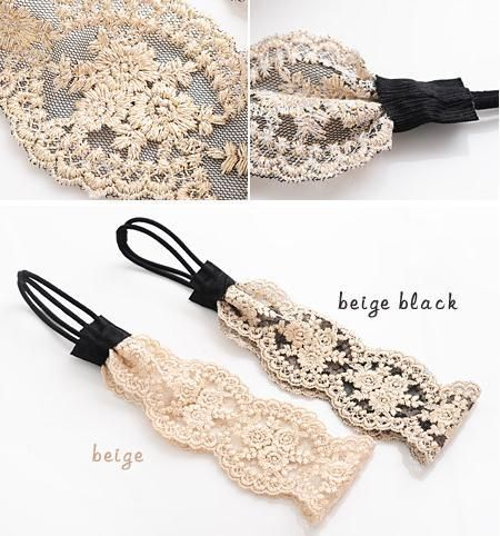 10pcs best selling Fashion lace Headband,hair chian band for women vintage style 2 colors-in Hair Accessories from Apparel & Accessories on ...