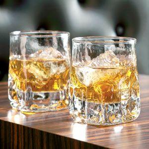 Quartz Double Rocks Tumblers 11.6oz / 330ml | Durobor Old Fashioned Glass Tumbler - Buy at drinkstuff