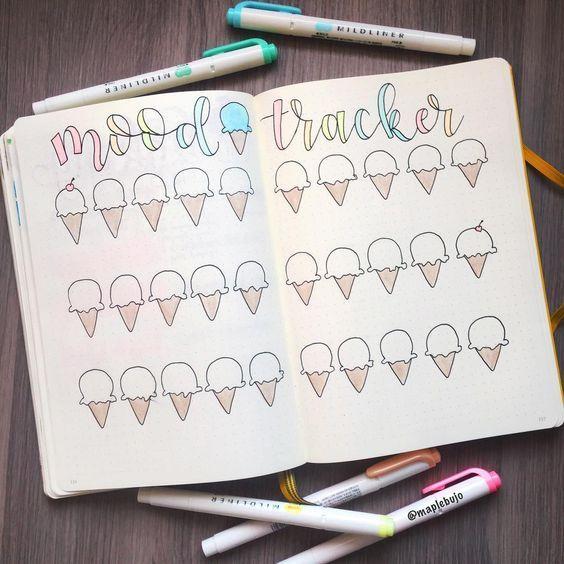 21 Fantastische Sommerideen für Ihr Bullet Journal – #Bullet #Fantastische #Ideen #Journal #Sommer
