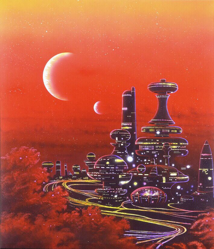 459 Best Retro Future Character Images On Pinterest: 345 Best Science Fiction Art Images On Pinterest