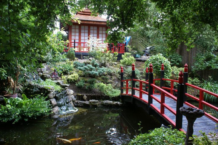 The 2015 Shed of the Year competition sponsored by Cuprinol - The Japanese Tea House from Cold Norton in Chelmsford Picture: Cuprinol/PA