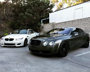 2005 Bentley Continental GT GT Coupe 2-Door BENTLEY CONTINENTAL 2005 PIRATE EDITION ADDED RIMS BLACK ACCENTS AND HEADRESTS