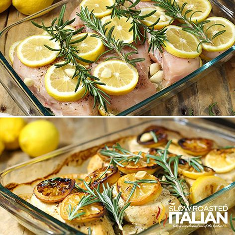 Looking for the best roasted chicken recipe ever? Well, you have found it! I am absolutely head over heals in love with this Rosemary Lemon Roasted Chicken! Moist, flavorful and miles away from ordinary.
