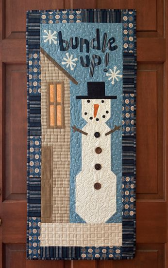 Bundle Up Quilt From Folk Art Favorites By Martingale