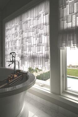 Interesting window treatment