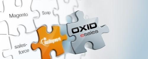 E-Marketing meets E-Commerce: mailingwork Schnittstelle zum Shopsystem #OXID eSales ermöglicht nahtlosen Datenaustausch #Schnittstelle