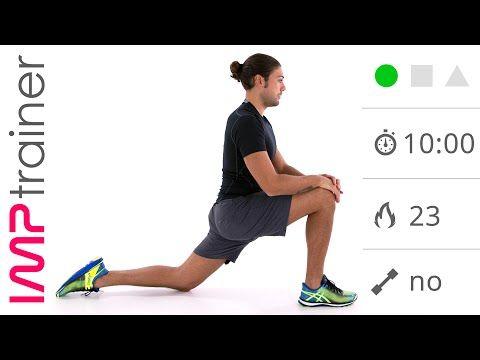 Esercizi di Defaticamento e Stretching - YouTube