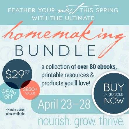 The 2014 Ultimate Homemaking eBook Bundle is LIVE! Plus a Chance to Win an iPad Mini, Flirty Apron and $25 Amazon Gift Card! - The Purposefu...
