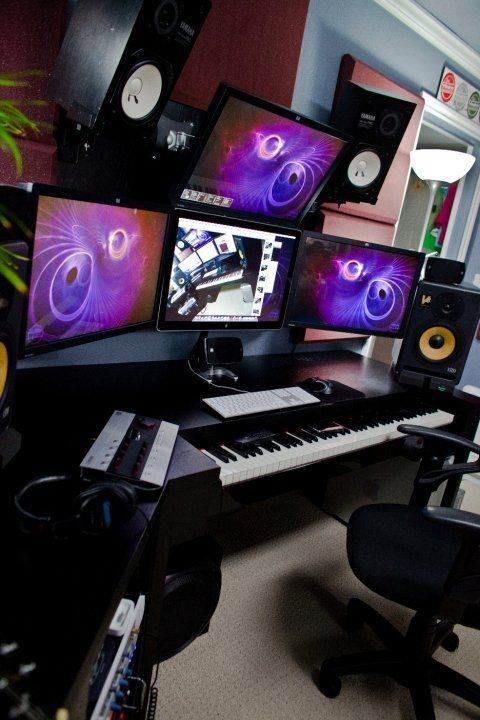 les 25 meilleures id es de la cat gorie studio d 39 enregistrement sur pinterest studio audio. Black Bedroom Furniture Sets. Home Design Ideas