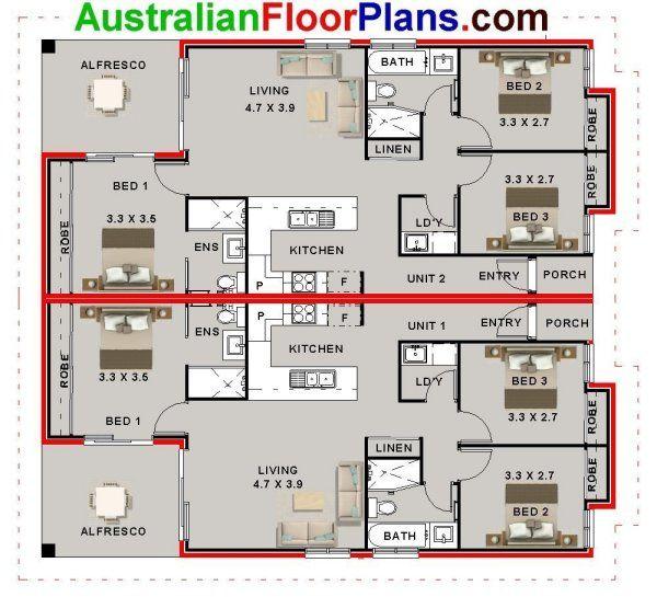 Astounding 6 Bed Duplex Design House Plan Houses Plans In 2019 Beutiful Home Inspiration Xortanetmahrainfo