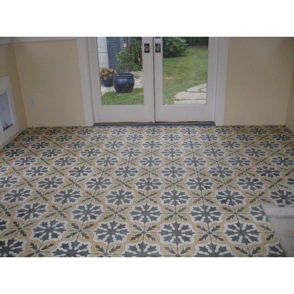 encaustic cement tiles by original mission tile found on polyvore