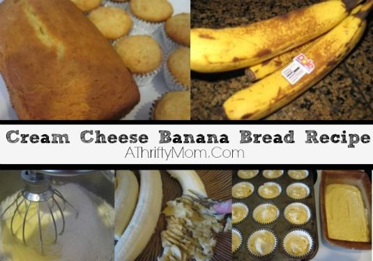 Cream Cheese Banana Bread | A Thrifty Mom. 'The Best Banana Bread Recipe Ever.' #recipe #bananabread