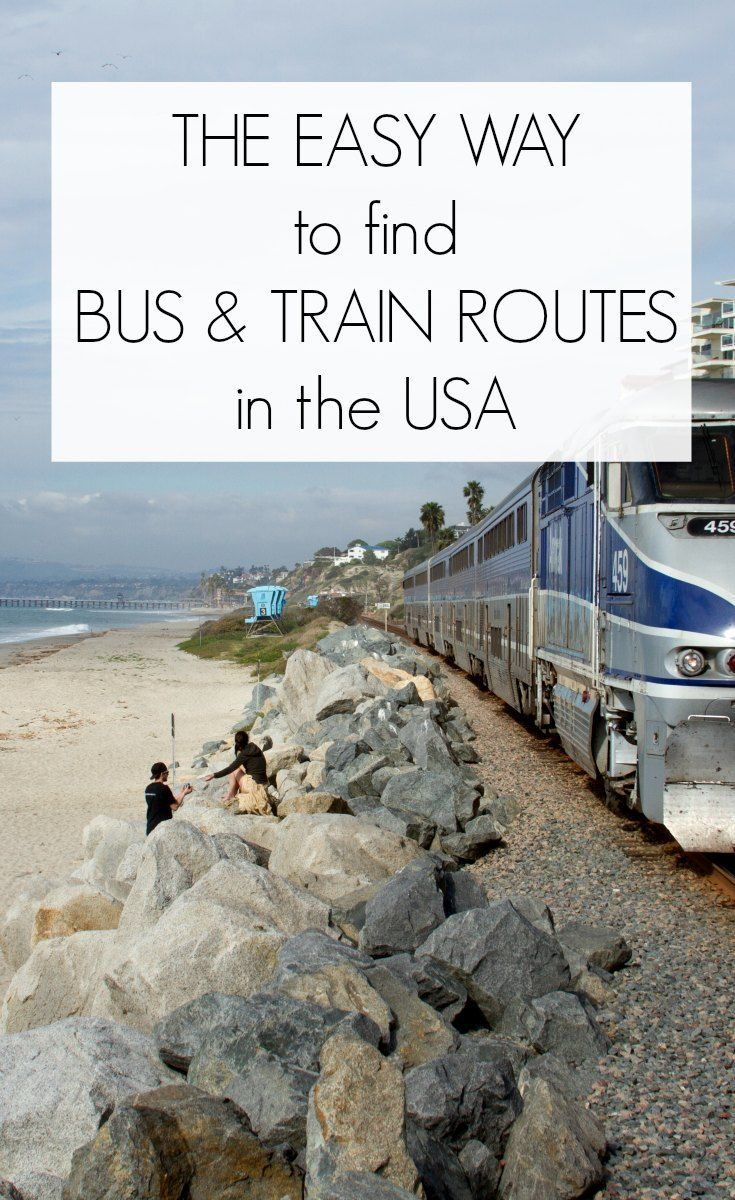 The Easy Way to Find Bus and Train Routes in the USA