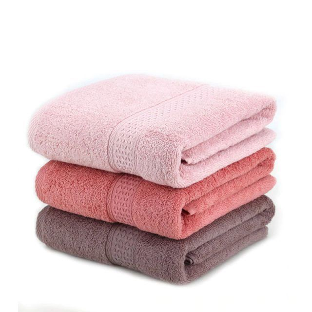 100 Cotton Solid Color Bath Beach Towel With Images Adult